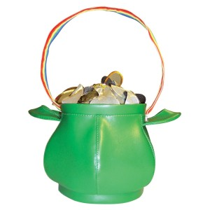 Pot of Gold Handbag - Gold / One Size