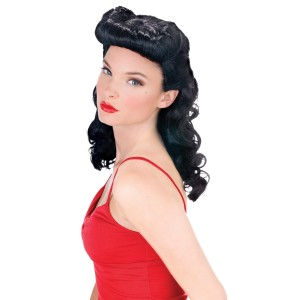 Burlesque Beauty Wig Adult - Black / One Size