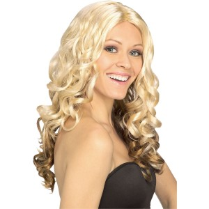 Goldilocks Adult Wig - Yellow / One Size