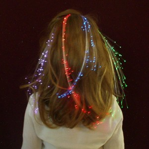 Glowbys Rainbow Hair Accessory - Multi-colored