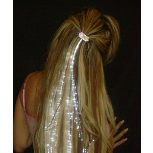 Glowbys White Hair Accessory - White