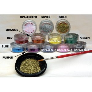 Face Painting Glitter - Green