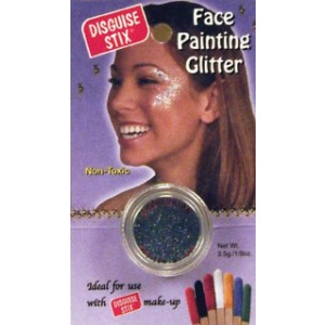 Face Painting Glitter - Black