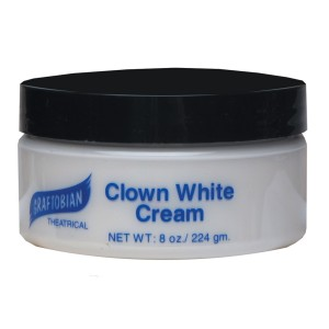 Clown White Creme Foundation 8 oz. - White / 8 oz.