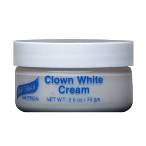 Clown White Creme Foundation 2.5 oz. - White / 2.5 oz.