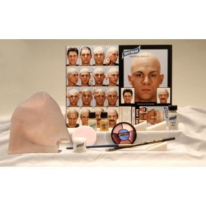 Professional Bald Cap Complete Kit - White / One Size