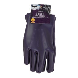 Batman Dark Knight The Joker Gloves Adult - Purple / One-Size