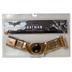 Batman The Dark Knight Rises Child Belt - Gold / One-Size