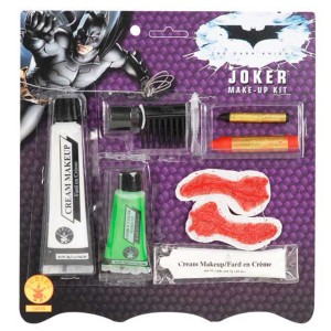 Batman Dark Knight The Joker Makeup Kit - White / One Size