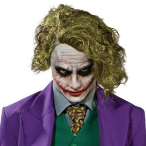 Batman Dark Knight The Joker Adult Wig - Green / One-Size