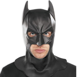 BatmanThe Dark Knight Rises Adult Full Mask - Black / One-Size