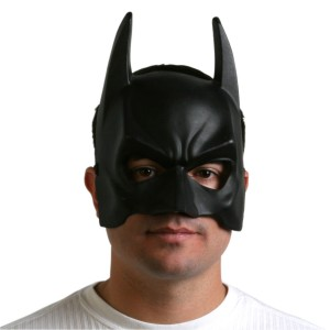 BatmanThe Dark Knight Rises Adult Mask - Black / One-Size