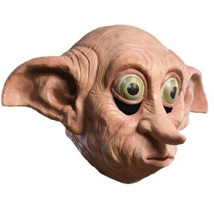 Harry Potter Deluxe Dobby Mask - Tan / One Size