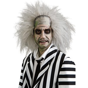 Beetlejuice Wig - White / One Size
