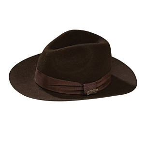 Indiana Jones - Deluxe Indiana Jones Hat Adult - Brown / One-Size