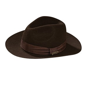 Indiana Jones - Deluxe Indiana Jones Hat Child - Brown / One-Size