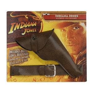 Indiana Jones - Indiana Jones Belt with Gun and Holster - Brown / One-Size