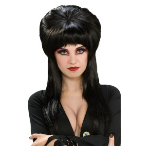 Elvira Deluxe Wig - Black / One Size