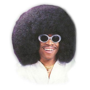 Wig, Super ''Fro'', Black