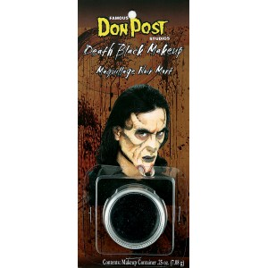 Don Post Death Black Makeup