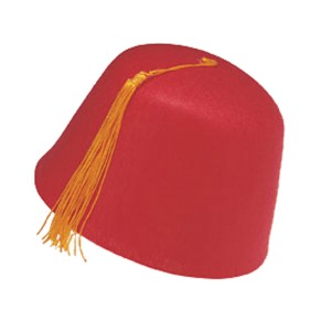 Fez Hat - Red / One Size