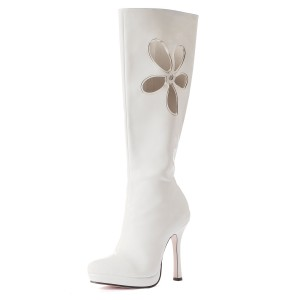 Lovechild White Adult Boots - White / 7
