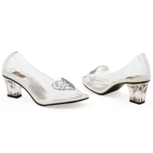 Ariel Clear Adult Shoes - White / 8