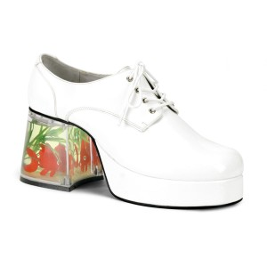 Mack White Adult Shoes - White / Medium (10-11)