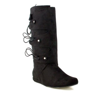 Thomas Black Adult Boots - Black / Small (8-9)