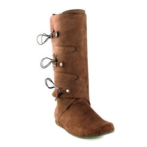 Thomas Brown Adult Boots - Brown / Small (8-9)