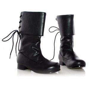 Sparrow Black Child Boots - Black / Small (11-12)
