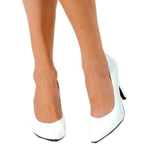 White Pump Adult Shoes - White / 8