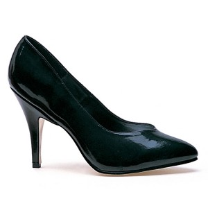 Black Pump Adult Shoes - Black / 7