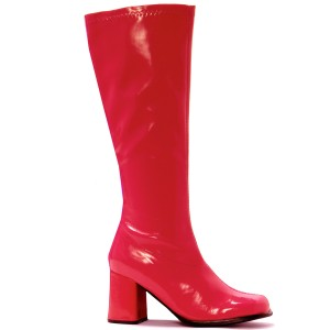 Gogo Red Adult Boots - Red / 6