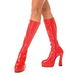 ChaCha Red Adult Boots - Red / 9