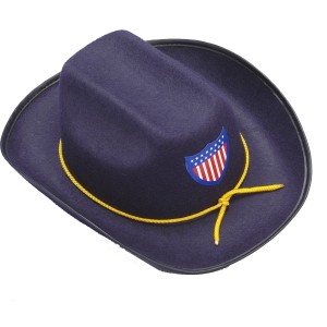 Union Officer Hat - Black / One-Size