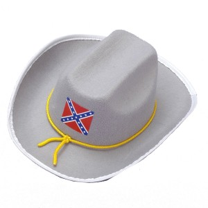 Confederate Officer Hat - Gray / One-Size