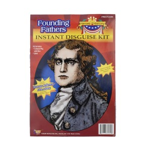 Heroes in History - Thomas Jefferson Accessory Kit - Black / One Size (12 and Up)