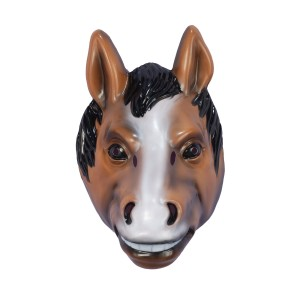 Horse Mask Child - Brown / One Size