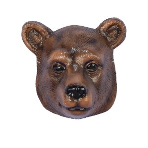 Bear Mask - Brown / One Size