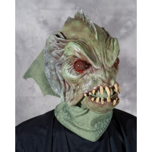 Deep Sea Creature Mask - Green / One Size Fits Most