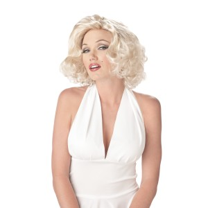 Sexy Marilyn Wig - White / One-Size