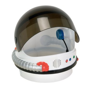 Jr. Astronaut Helmet - White / One Size