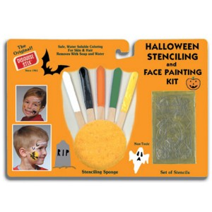 Halloween Stenciling and Face Painting Kit