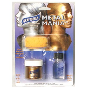 Metal Mania Gold Makeup Kit