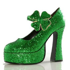 Shamrock Green Adult Shoes - Green / 6