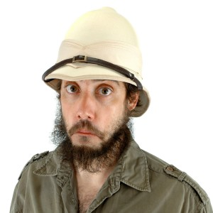 British Pith Helmet - Tan / One-Size