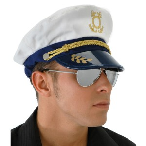 Captain Hat - Black / One-Size