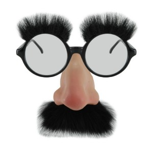 Groucho Glasses - Black / One-Size