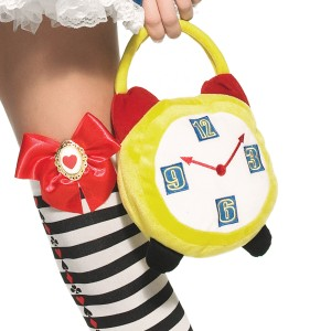 Crazy Hour Alarm Clock Purse - Yellow / One-Size